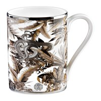 Roberto Cavalli Tropical Jungle Fine Bone China Mug White