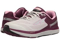 Altra Footwear Intuition 4 Gray Purple Women's Running Shoes Multi