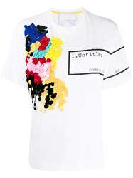 No Ka' Oi Untitled Print Sequin Embroidered T Shirt 60