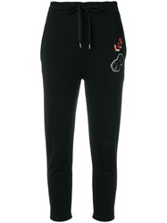 Mcq By Alexander Mcqueen Branded Tracksuit Trousers Black