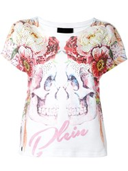 Philipp Plein Double Face T Shirt Red