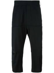 Odeur 'Beyond' Cropped Trousers Black