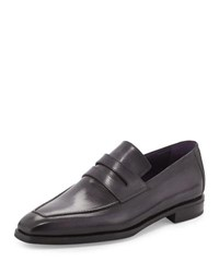 Berluti Andy Leather Loafer Black