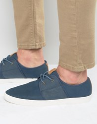 Aldo Paresa Plimsolls In Blue Blue