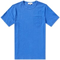 Ymc Wild Ones Slub Pocket Tee Blue