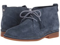 Hush Puppies Cyra Catelyn Vintage Indigo Suede Lace Up Boots Blue