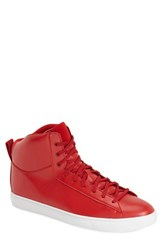 Men's Clae 'Frazier' High Top Sneaker Ruby Leather