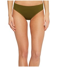 Jantzen Core Solids Full French Bikini Bottom Olive Me Swimwear Multi
