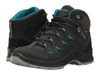 Lowa Levante Gtx Qc Anthracite Turquoise Women's Shoes Gray