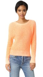 Free People Electric City Pullover Tangerine
