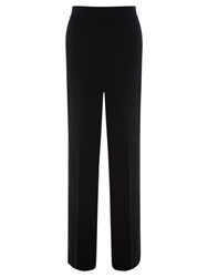 Warehouse Wide Leg Trousers Black