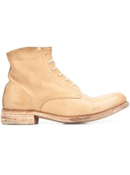 A Diciannoveventitre One Piece Ankle Boots Nude Neutrals