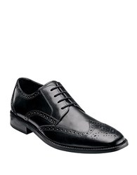 Florsheim Castellano Leather Wingtip Oxfords Black