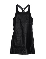 Pepe Jeans Dresses Short Dresses Women Black