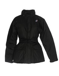 K Way Down Jackets Black