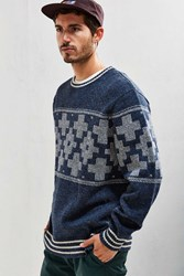 Pendleton San Miguel Crew Neck Sweater Blue