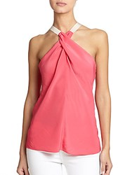 Ramy Brook Lisa Crossover Halter Tank Watermelon