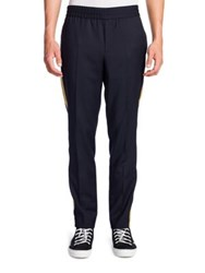 Palm Angels Striped Elastic Waist Trousers