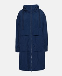 Stella Mccartney Indigo Blue Oversized Parka