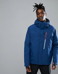 Jack Wolfskin Exolight Icy Jacket In Royal Blue With Chest Pocket 1505 Royal Blue