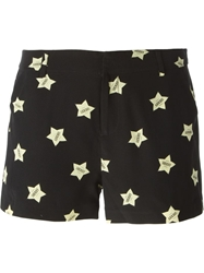 American Retro 'Oscar' Shorts Black