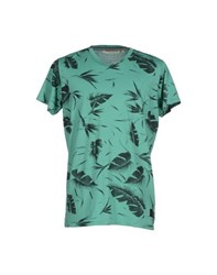 Anerkjendt Topwear T Shirts Men Green