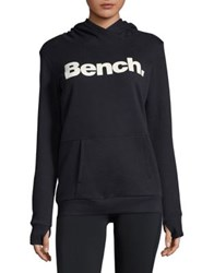 Bench Glitter Logo Hoodie Chateau