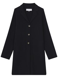 Gerard Darel Milan Coat Navy Blue