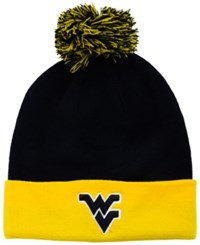 Top Of The World West Virginia Mountaineers 2 Tone Pom Knit Hat