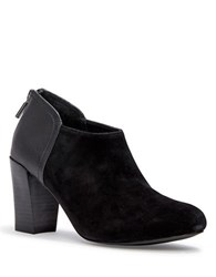 Me Too Jagger Suede Ankle Boots Black