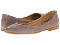 Frye Carson Ballet Grey Antique Soft Vintage Women's Flat Shoes Tan