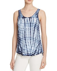 Project Social T Tie Dye Tank Bloomingdale's Exclusive White Navy