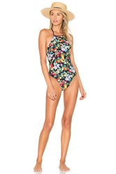 Nanette Lepore Amor Atitlan Seductress One Piece Black