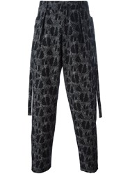 Damir Doma 'Picasso' Trousers Grey