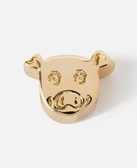Stella Mccartney Gold Pig' Alphabet Shoe Charm New