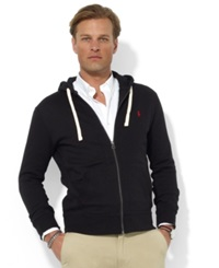 Polo Ralph Lauren Hoodie Core Full Zip Hooded Fleece Polo Black