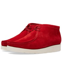 Padmore And Barnes P405 Vibram Original Boot Red Suede