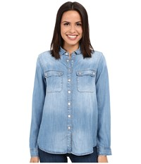 Mavi Jeans Sammy Light Tencel Women's Clothing Blue