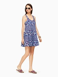 Kate Spade Tangier Beach Cover Up Cobalt