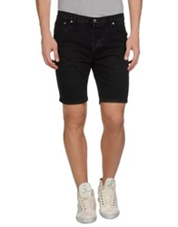 Cheap Monday Denim Bermudas Black