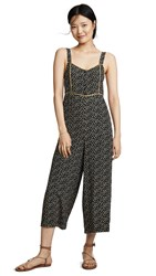 17c7482ccdf Madewell Button Front Wide Leg Jumpsuit True Black