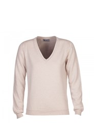 Johnstons Of Elgin Cashmere Slouch Sweater Neutral