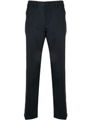 Kent And Curwen Straight Leg Trousers Blue