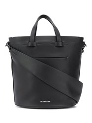 Troubadour Contour Oval Bag Black