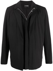 Les Hommes Layered Zip Up Jacket 60