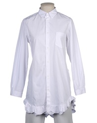 G750g Long Sleeve Shirts White