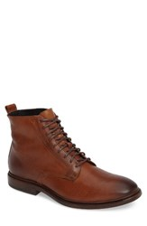 Frye Men's Patrick Derby Boot Copper Leather