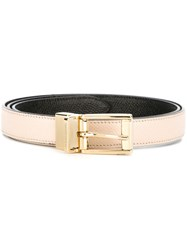 Dolce And Gabbana Classic Belt Nude And Neutrals