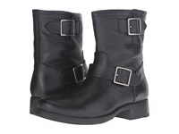 Frye Vicky Engineer Black Soft Full Grain Women's Boots