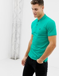 Selected Seleceted Homme Classic Polo Green